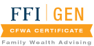 FFI | GEN CFWA Certificate - Family Wealth Advising
